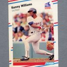 1988 Fleer Baseball #412 Kenny Williams - Chicago White Sox