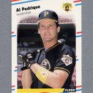 1988 Fleer Baseball #338 Al Pedrique - Pittsburgh Pirates