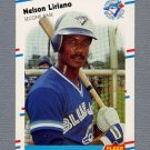 1988 Fleer Baseball #117 Nelson Liriano - Toronto Blue Jays