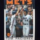 1986 Topps Baseball #362 Tom Paciorek - New York Mets