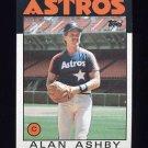1986 Topps Baseball #331 Alan Ashby - Houston Astros