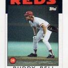 1986 Topps Baseball #285 Buddy Bell - Cincinnati Reds