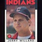 1986 Topps Baseball #273 Jerry Willard - Cleveland Indians