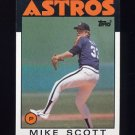 1986 Topps Baseball #268 Mike Scott - Houston Astros NM-M