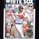 1986 Topps Baseball #139 Daryl Boston - Chicago White Sox