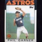 1986 Topps Baseball #083 Phil Garner - Houston Astros