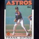 1986 Topps Baseball #026 Frank DiPino - Houston Astros