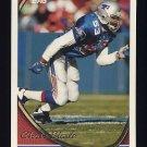 1994 Topps Football #574 Chris Slade - New England Patriots