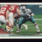 1994 Topps Football #521 Keith Sims - Miami Dolphins