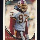 1994 Topps Football #486 Sterling Palmer RC - Washington Redskins