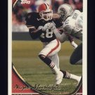 1994 Topps Football #446 Najee Mustafaa - Cleveland Browns