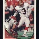 1994 Topps Football #331 Doug Pelfrey - Cincinnati Bengals