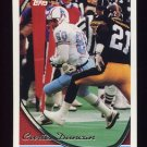 1994 Topps Football #296 Curtis Duncan - Houston Oilers