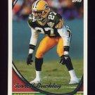1994 Topps Football #108 Terrell Buckley - Green Bay Packers