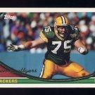1994 Topps Football #078 Ken Ruettgers - Green Bay Packers