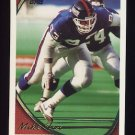 1994 Topps Football #057 Mike Fox - New York Giants