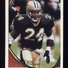 1994 Topps Football #046 Derek Brown - New Orleans Saints