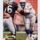 1992 Stadium Club Football #300 Cortez Kennedy MC - Seattle Seahawks