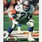 1992 Stadium Club Football #249 Bryan Millard - Seattle Seahawks