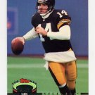 1992 Stadium Club Football #205 Neil O'Donnell - Pittsburgh Steelers