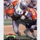 1992 Stadium Club Football #201 Mike Croel - Denver Broncos
