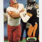 1992 Stadium Club Football #028 Mark Schlereth RC - Washington Redskins