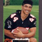 1994 Stadium Club Football #411 D.J. Johnson - Atlanta Falcons