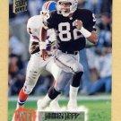 1994 Stadium Club Football #389 James Jett - Los Angeles Raiders
