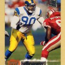 1994 Stadium Club Football #245 Sean Gilbert - Los Angeles Rams