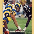 1994 Stadium Club Football #116 Bern Brostek - Los Angeles Rams
