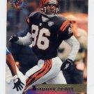 1995 Stadium Club Football #232 Darnay Scott - Cincinnati Bengals