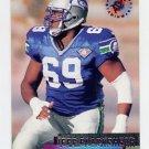 1995 Stadium Club Football #092 Jeff Blackshear - Seattle Seahawks