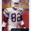 1995 Stadium Club Football #068 Mark Seay - San Diego Chargers
