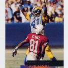 1995 Stadium Club Football #054 Todd Lyght - St. Louis Rams