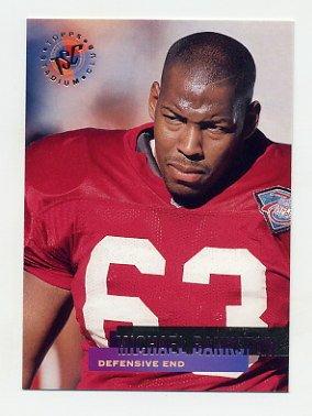 1995 Stadium Club Football #048 Michael Bankston Arizona Cardinals