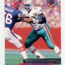1995 Stadium Club Football #029 Richmond Webb - Miami Dolphins