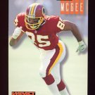 1994 Skybox Impact Football #261 Tim McGee - Washington Redskins