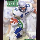 1994 Skybox Impact Football #244 Chris Warren - Seattle Seahawks