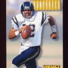 1994 Skybox Impact Football #223 Stan Humphries - San Diego Chargers