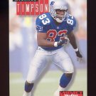 1994 Skybox Impact Football #172 Michael Timpson - New England Patriots