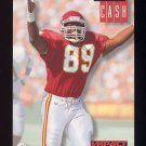 1994 Skybox Impact Football #126 Keith Cash - Kansas City Chiefs