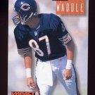 1994 Skybox Impact Football #037 Tom Waddle - Chicago Bears