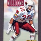 1994 Skybox Impact Football #008 Aeneas Williams - Arizona Cardinals