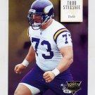 1994 Skybox Premium Football #175 Todd Steussie RC - Minnesota Vikings