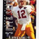 1995 Skybox Impact Football #165 Trent Dilfer SS - Tampa Bay Buccaneers