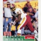 1995 Skybox Impact Football #148 Tydus Winans - Washington Redskins
