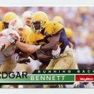 1995 Skybox Impact Football #051 Edgar Bennett - Green Bay Packers