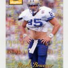 1995 Skybox Premium Football #179 Mark Bruener RC - Pittsburgh Steelers