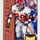 1995 Skybox Premium Football #062 Greg Hill - Kansas City Chiefs