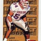 1996 Skybox Impact Football #170 Lance Johnstone RC - Oakland Raiders